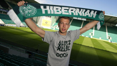 Hibernian star Jordon Foster looks ahead to his side's last SPL game of the season against Dundee.