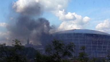 Hydro fire on June 8 2013.