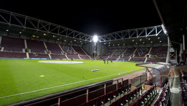 Assault: A goalkeeper was assaulted at Tynecastle.