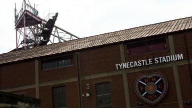 Tynecastle Stadium, Hearts, June 2013.