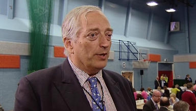 Viscount Christopher Monckton, UKIP president in Scotland.