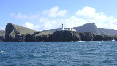 Tourism: Neist Point Lighthouse sits on the most westerly tip of Skye.