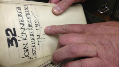 History afloat: a sneak peak inside the Scottish Canals' archives.