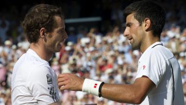 Support: Murray and Djokovic.