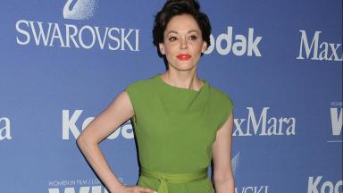 Hollywood: Rose McGowan said she had been 'silenced for 20 years'.
