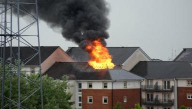 Greenock Fire, 25/07/13