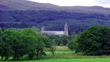 CC licensed pic of Fort Augustus Abbey in Highlands near Inverness where former pupils claim to have been abused by Catholic monks