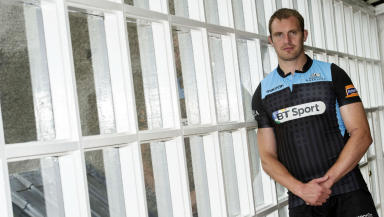Al Kellock, Glasgow Warriors, August 2013.