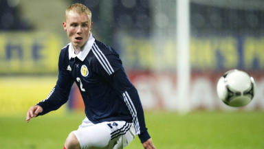 Jack Grimmer, Scotland, October 2012.