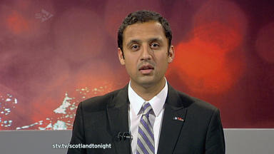 Scottish Labour deputy leader Anas Sarwar on Scotland Tonight 05 September 2013.