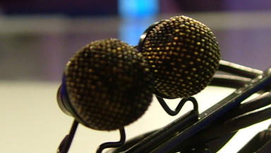 Microphone listening device bug close. Picture copyright John Kilbride, used with permission