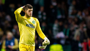 Fraser Forster is on his way back to Celtic.