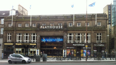 The Edinburgh Playhouse has been a fixture of Leith Street for 90 years.