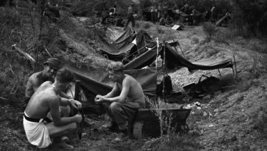 World War: Veteran searching for fellow survivors.