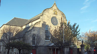 Canongate Kirk: Could be the venue for a royal wedding.