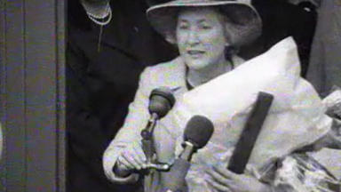 Stop the world: Winnie Ewing in 1967.