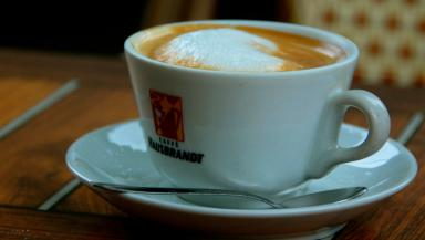 Coffee: Researchers conducted a 12-year study (file pic).