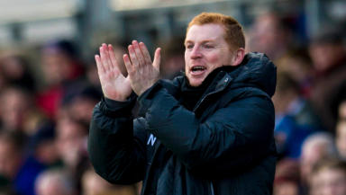Celtic manager Neil Lennon in November 2013.
