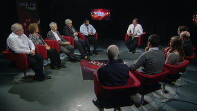 Scotland Tonight referendum focus group. 25 November 2013.