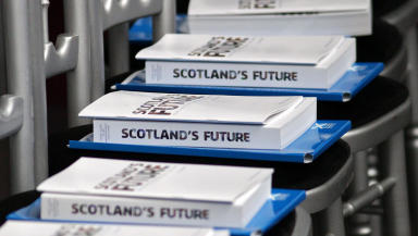 Scotland's future referendum white paper being published quality image