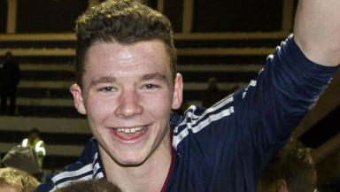 Ali Coote, Dundee United and Scotland, November 2011.