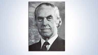 University of Glasgow handout picture of Professor David Maxwell Walker QC, who died on Sunday January 5 at the age of 93.