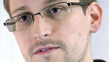 Edward Snowden former CIA employee who disclosed NSA information. Pic from wikimedia comons