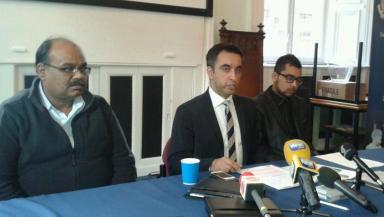 Sonoo Yaqoob and Aamer Anwer news conference January 29 2014
