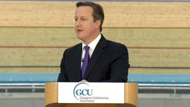 David Cameron speech in Glasgow February 7 2014