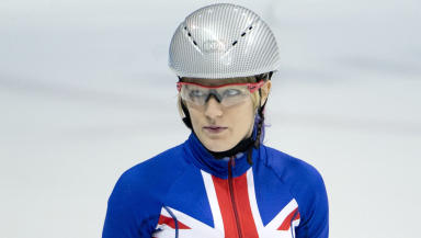 Elise Christie suffered disappointment four years ago in Sochi.