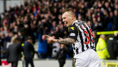 Gregg Wylde, St Mirren 2-0 Kilmarnock, March 2014.