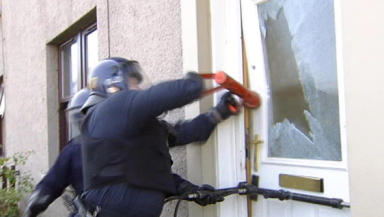 Police raids: Stolen goods targeted in operation