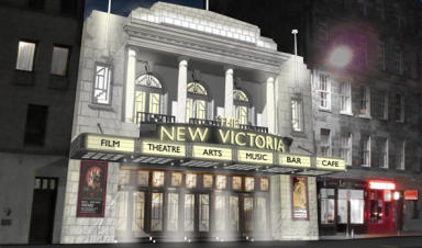 New vision: Friends of former Odeon cinema have ambitious plans.