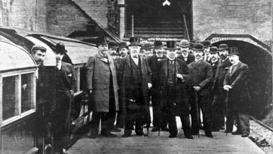 December 1896: The opening of the Subway.