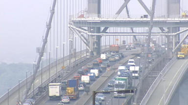 Forth Road Bridge: Will become a public transport corridor.