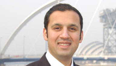 Sarwar: Competing for Labour leadership.