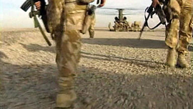 Scots soldier executed by Taliban in Afghanistan.