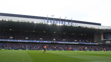 Ibrox: 3000 seats will lie empty for tonight's game.