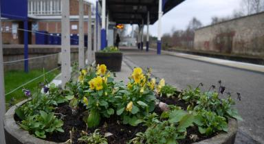 Forres Railway Station