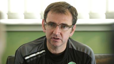 Hibernian boss Pat Fenlon.