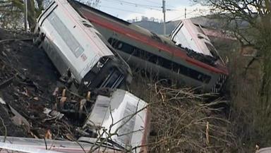 Crash: Margaret Masson died after the derailment at Grayrigg.