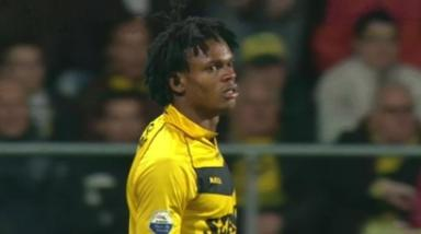 VVV Venlo striker Michael Uchebo.