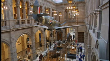 Busy: Kelvingrove Art Gallery and Museum was another solid favourite for visitors.
