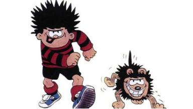 Comic: Dennis the Menace first appeared in The Beano in 1951.