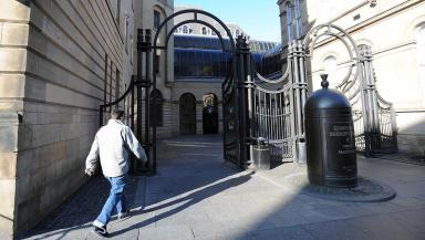 Sentence: Craig Aitken appeared at Edinburgh Sheriff Court (file pic).