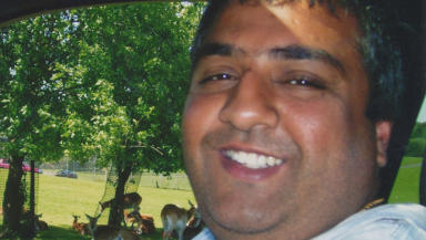 Mohammed Nadeem Siddique: The businessman was shot in Glenrothes last year.
