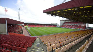 Pittodrie: The incident is alleged to have taken place at the stadium.