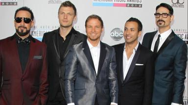 World tour: Backstreet Boys.