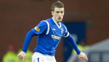 Rangers midfielder Steven Davis.
