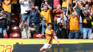 John Sutton, Motherwell, April 2014.